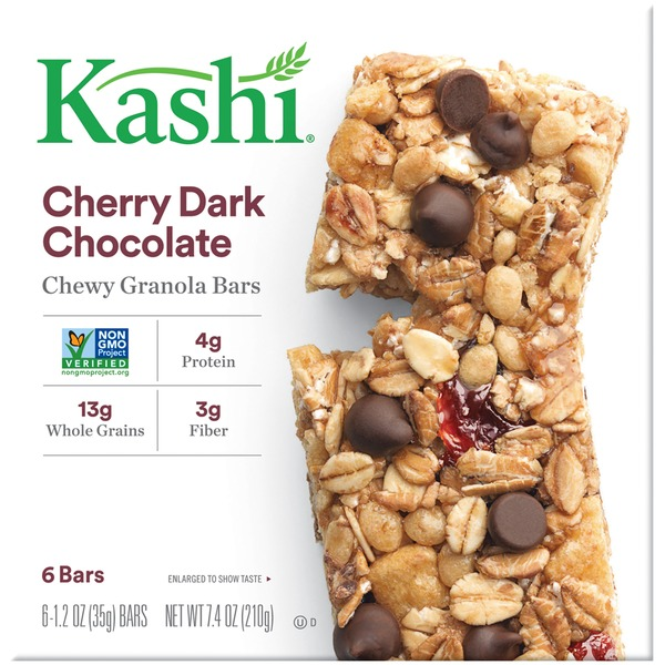 Kashi Chewy Cherry Dark Chocolate Granola Bars