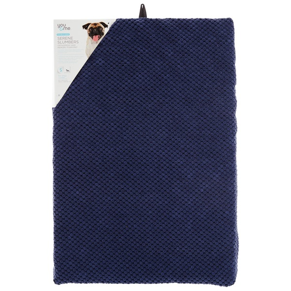 You & Me Supreme Slumbers Blue Orthopedic & Memory Foam Mat 21