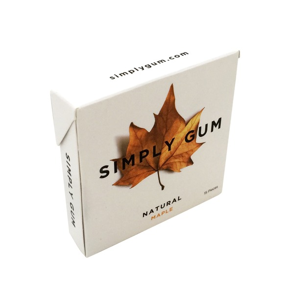 Simply Gum Natural Maple Gum