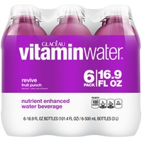 Glaceau Vitaminwater Revive Fruit Punch 16.9 Oz Vitaminwater