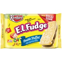 Keebler E.L. Fudge Double Stuffed Sandwich Cookies