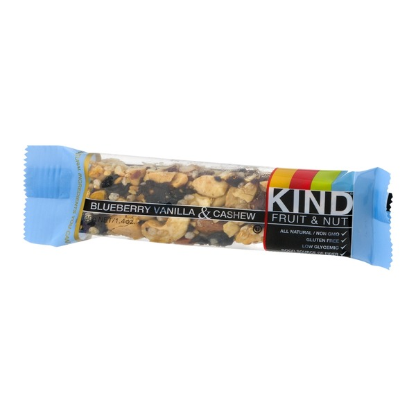 KIND Fruit & Nut Bar Blueberry Vanilla & Cashew
