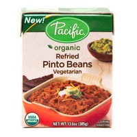 Pacific Organic Refried Vegetarian Black Beans
