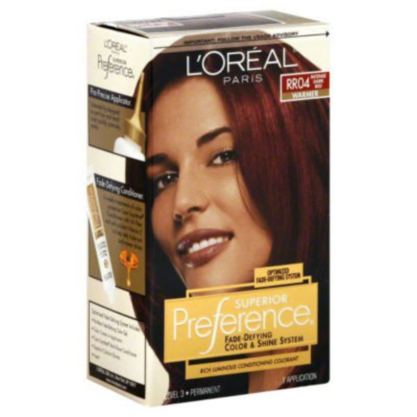 Superior Preference Warmer RR04 Intense Dark Red Hair Color