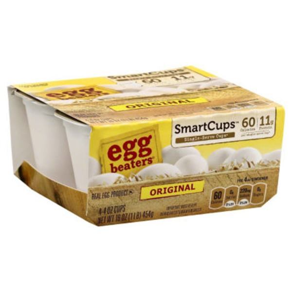 Egg Beaters SmartCups Original - 4 CT