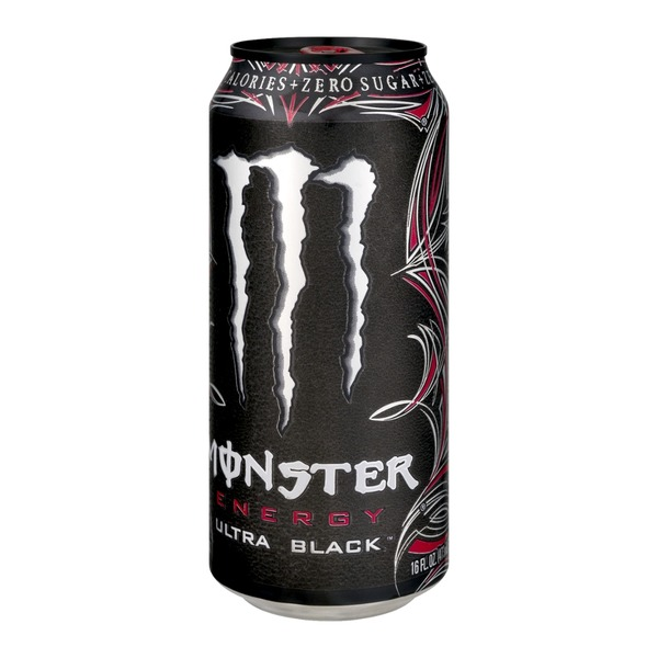 Monster Energy Drink Ultra Black