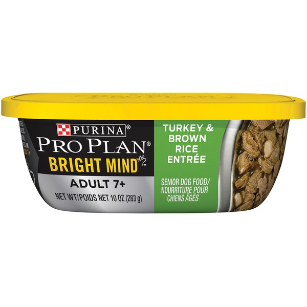 Pro Plan Dog Wet Bright Mind Turkey & Brown Rice Entree Dog Food