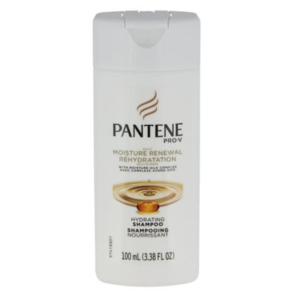Pantene Daily Moisture Renewal Pantene Daily Moisture Renewal Hydrating Shampoo 3.38 oz (trial size)  Female Hair Care