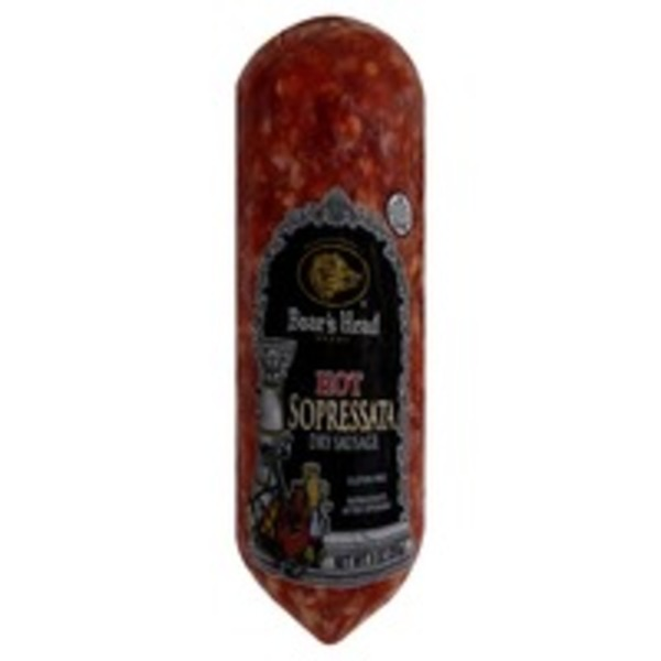 Boar's Head Hot Sopressata  Dry Sausage