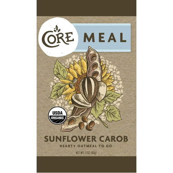 Core Foods Organic Sunflower Carob Bar