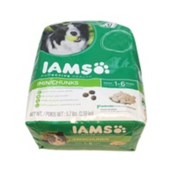 IAMS Proactive Health MiniChunks 1-6 Years Dog Food