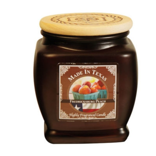 Texas Candle Fredricksburg Peach Candle