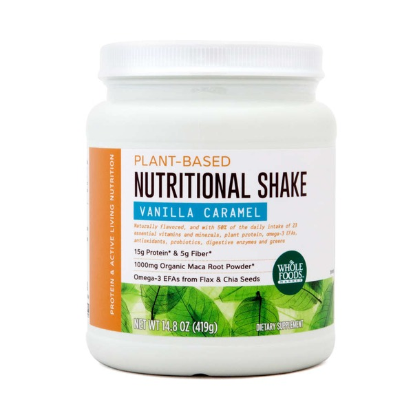 Whole Foods Market Vanilla Caramel Plant-Based Nutritional Shake