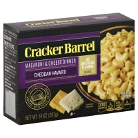 Cracker Barrel Sharp Cheddar & Havarti Macaroni & Cheese