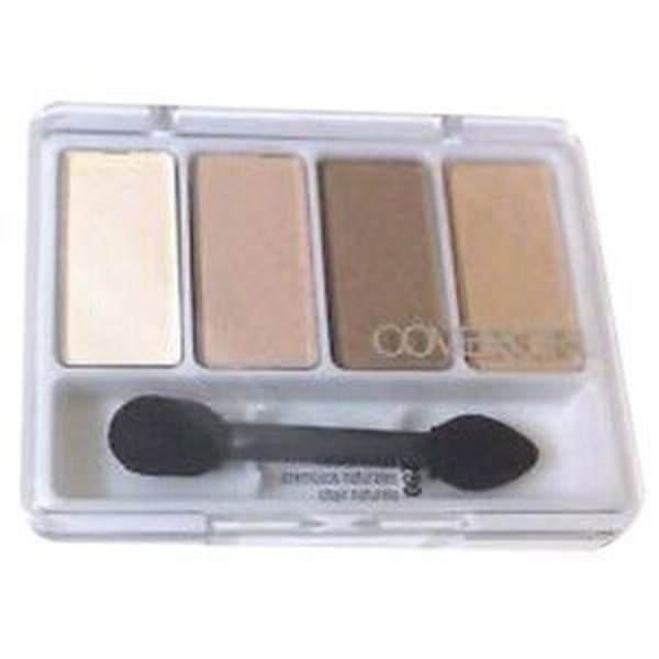 CoverGirl Eye Enhancer COVERGIRL Eye Enhancers 4-Kit Eye Shadow, Natural Nudes 0.19 Oz Female Cosmetics