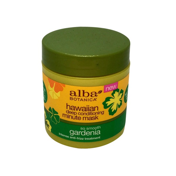 Alba Botanica Hawaiian Gardenia Deep Conditioning Minute Mask