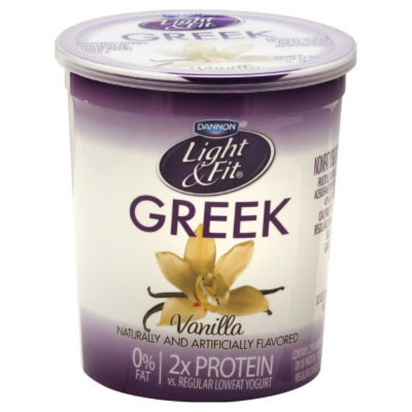 Dannon Light & Fit Greek Greek Vanilla Nonfat Yogurt