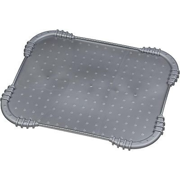 You & Me Gray Skid Stop Dog Placemat 18