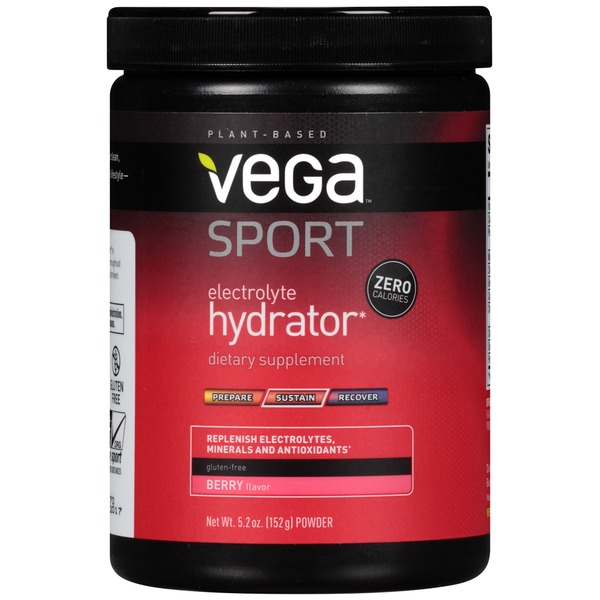 Vega Sport Electrolyte Hydrator Berry Powder Dietary Supplement