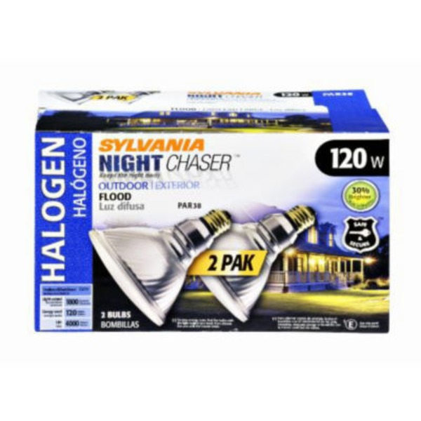 Sylvania Night Chaser Halogen 120 Watt Outdoor Flood Light