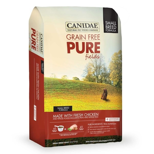 Canidae Grain Free Pure Fields Made With Fresh Chicken Small Breeds Adult Dog Food