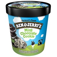Ben & Jerry's Mint Chocolate Cookie Ice Cream