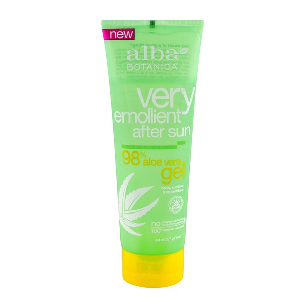 Alba Botanica Very Emollient After Sun 98% Aloe Vera Gel