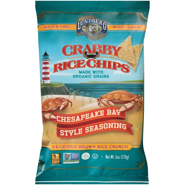 Lundberg Family Farms Crabby Rice Chips