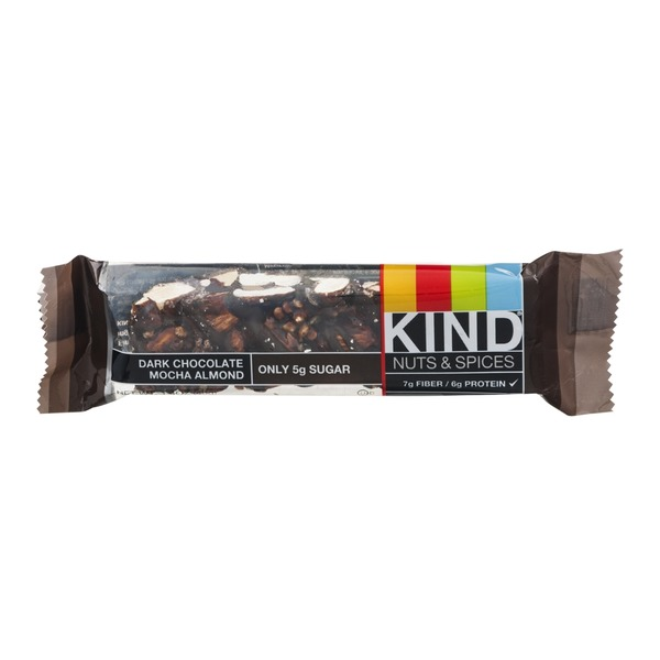 KIND Nuts & Spices Dark Chocolate Mocha Almond Bar
