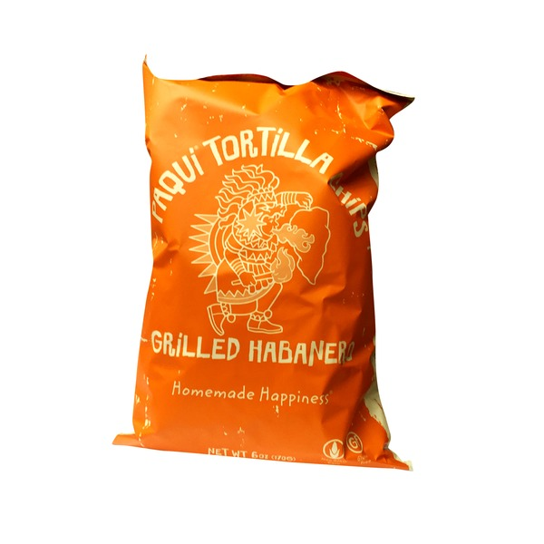 Paqui Tortilla Chips Grilled Habanero Tortilla Chips