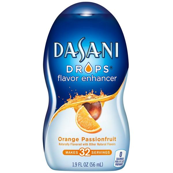 Dasani Drops Orange Passionfruit Flavor Enhancer