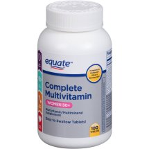 Equate complete multivitamin women 50+ multivitamin/multimineral supplement, 100 Ct