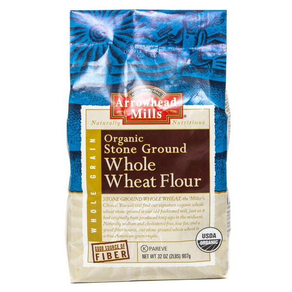 Arrowhead Mills Organic Whole Wheat Flour Stone Ground