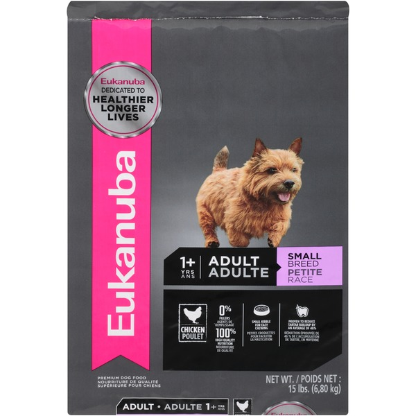 Eukanuba Adult Small Breed Chicken Premium Dog Food