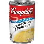 Campbell's Condensed Cream of Chicken & Mushroom Soup, 10.5 oz.