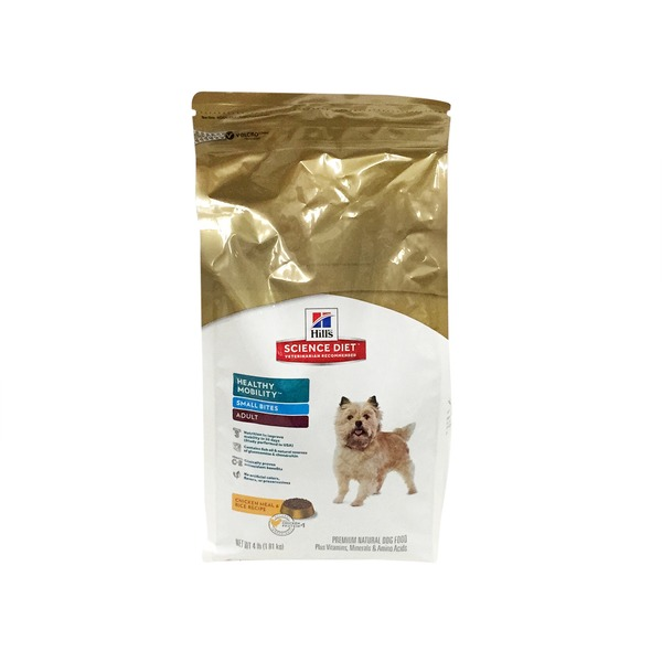 Hill's Science Diet Healthy Mobility Small Bites Adult Dog Food 4 Lbs.