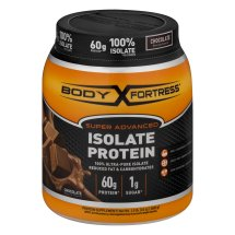 Body Fortress® Super Advanced 100% Protein Isolate, Chocolate, 1.5 Pounds