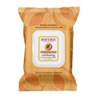 Burt's Bees Peach & Willow Bark Exfoliating Wipes