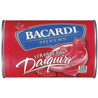 Bacardi Frozen Mixers Frozen Concentrate Non-Alcoholic Strawberry Daiquiri