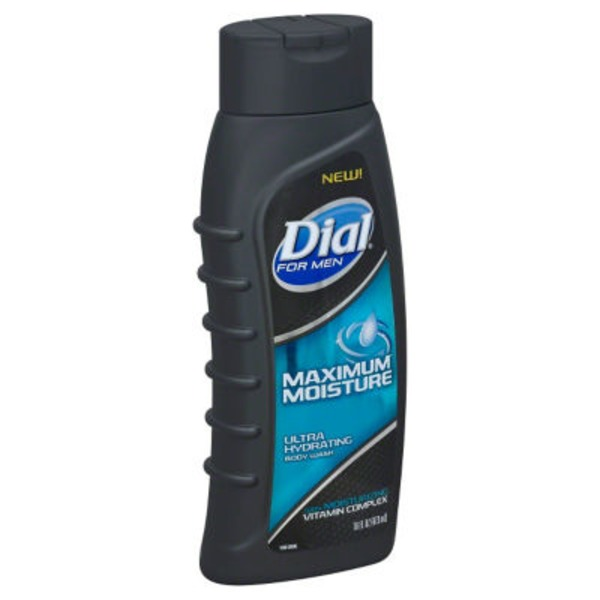 Dial For Men Maximum Moisture Hair + Body Wash