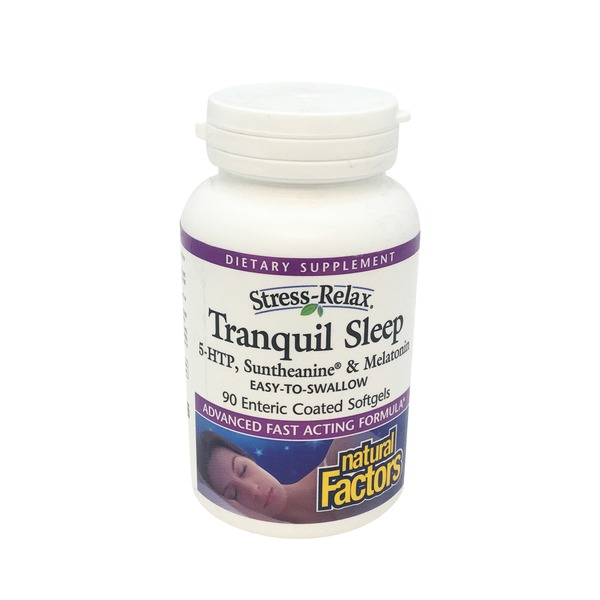 Natural Factors Stress Relax Tranquil Sleep Enteric
