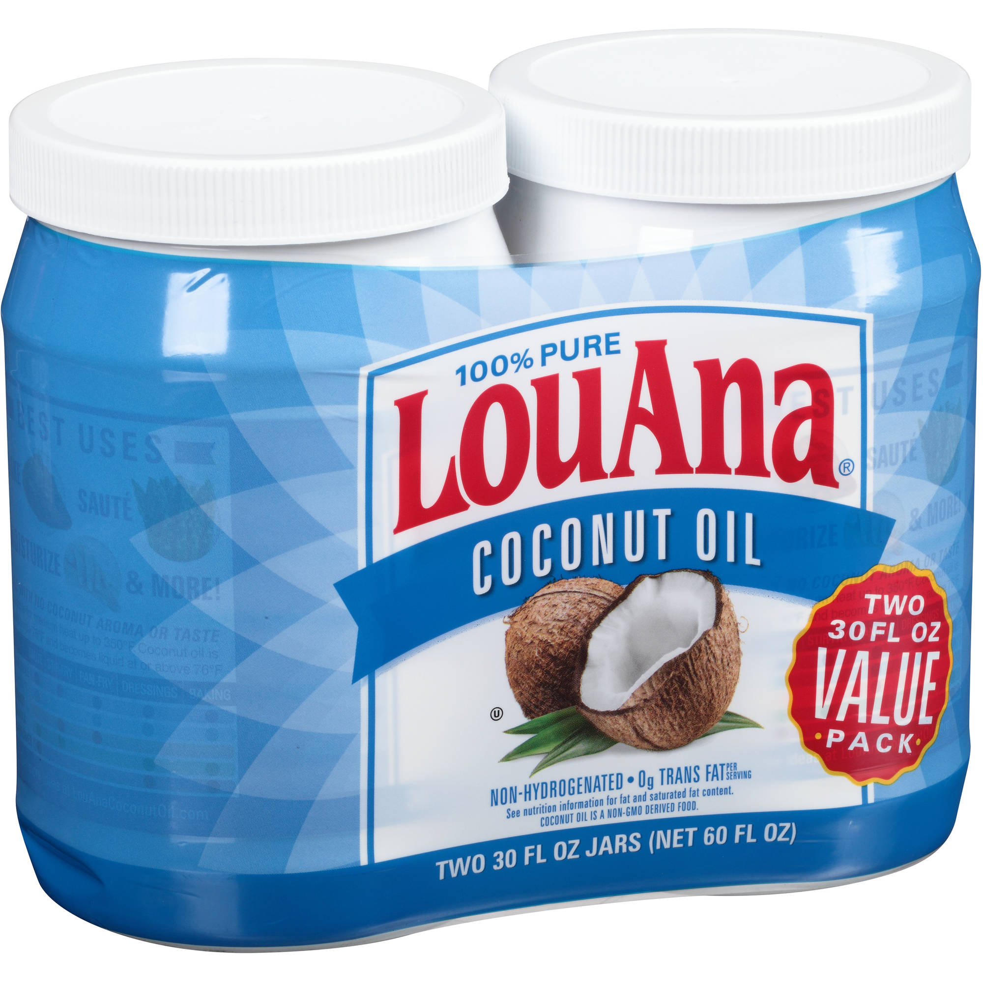 LouAna 100% Pure Coconut Oil