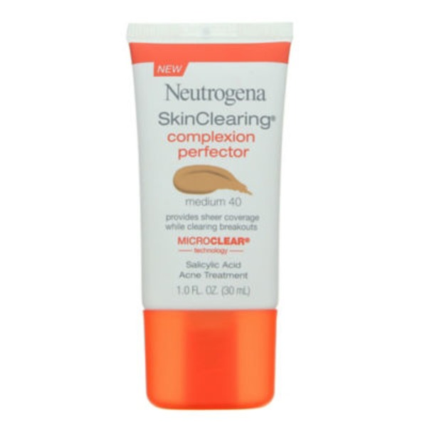 Neutrogena Complexion Perfector Medium 40 Salicylic Acid Acne Treatment