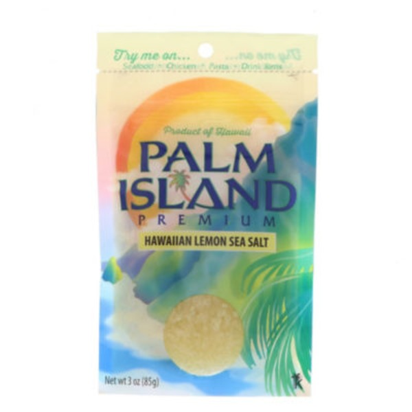Palm Island Hawaiian Lemon Sea Salt