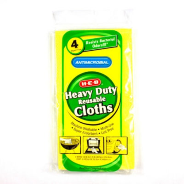 H-E-B Heavy Duty Reusable Cloths