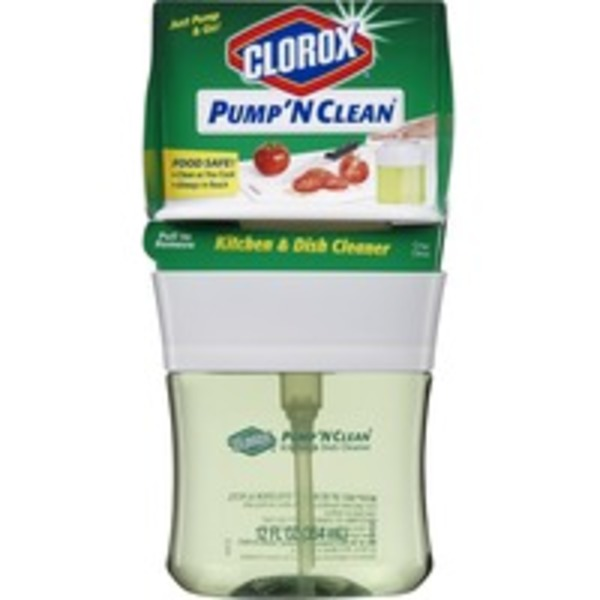 Clorox Pump 'N Clean Crisp Citrus Scent Multi-Purpose Kitchen & Dish Cleaner