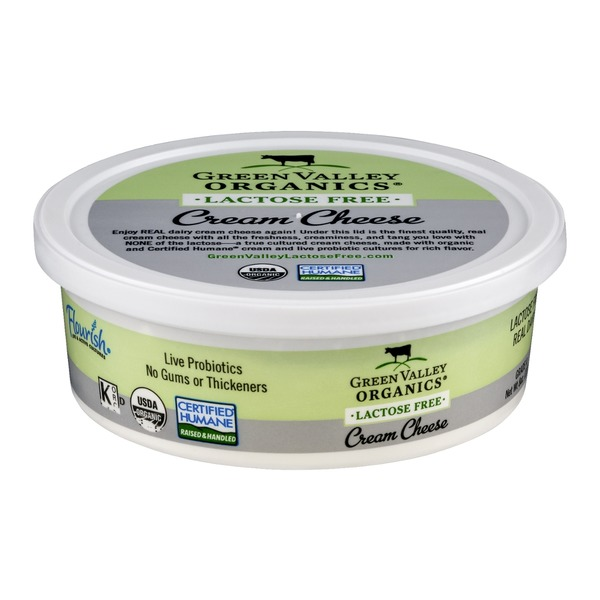 Green Valley Organics Cream Cheese Lactose Free