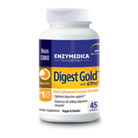 Enzymedica Dietary Supplement, Digest Gold, Capsules, Bottle