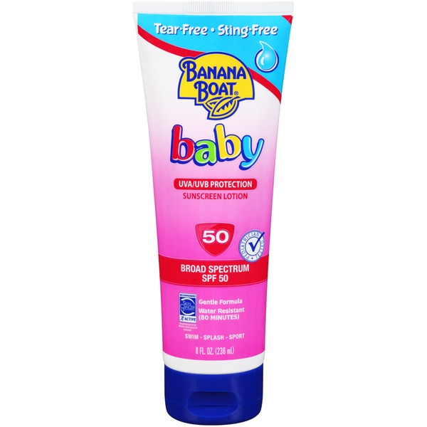 Banana Boat Baby Broad Spectrum SPF 50 Lotion Sunscreen