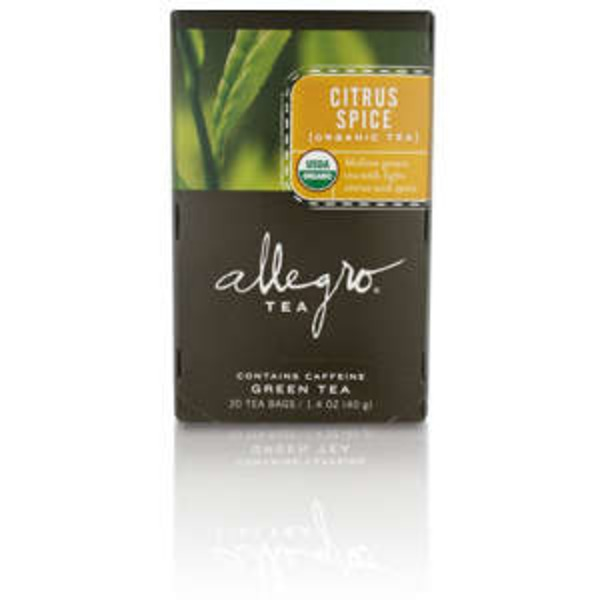 Allegro Organic Citrus Spice Green Tea